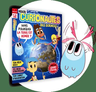 Couverture du magazine CURIONAUTES des sciences