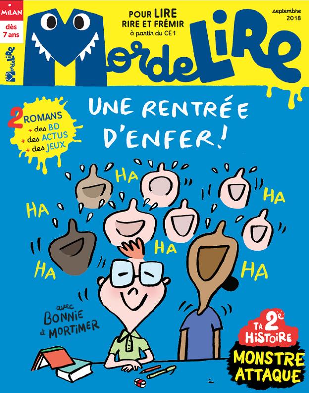 septembre 2018 mordelire magazine de lecture pour enfants dès 7 ans