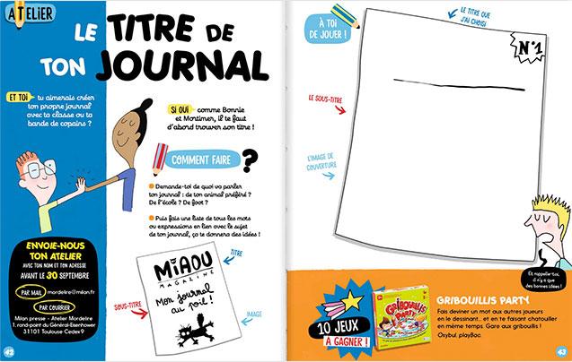 atelier enfant maazine astuce lecture écriture