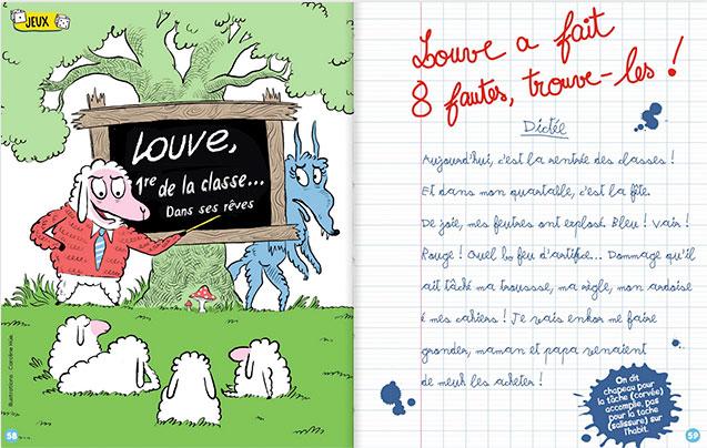 fausse dictee - école magazine primaire idéal CE1, CE2, CM1