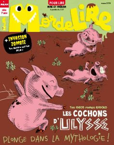 """Plonge dans la mytholohie avec l'histoire """"Les cochons d'Ulysse"""" - Mordelire Magazine"""