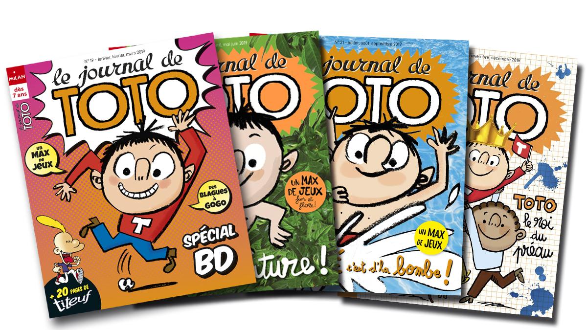 MordeLIRE Maxi Lecture - Journal de Toto