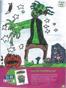 concours Mordelire de novembre 2019 (n° 382), «Imagine un zombie » : Laurys. F (69)