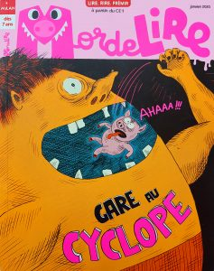 MordeLIRE Magazine : Gare aux cyclopes !