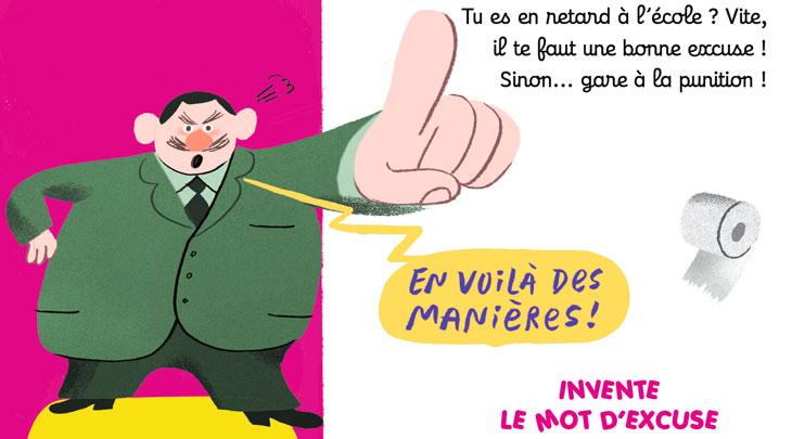 Concours MordeLIRE - Ton excuse Bidon !