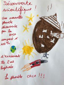 """Concours Mordelire """"Fais ta une !"""" - Andréa 6 ans"""
