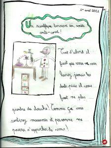 """Concours Mordelire """"Fais ta une !"""" - Guilhem 8 ans"""