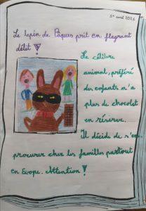 """Concours Mordelire """"Fais ta une !"""" - Lola 10 ans"""