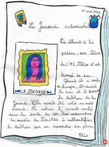"""Concours Mordelire """"Fais ta une !"""" - Théo 10 ans"""