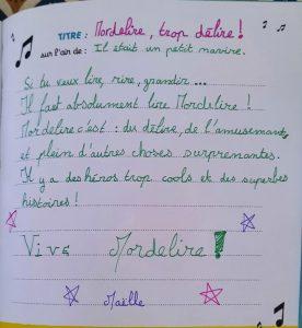 Maëlle - 10 ans