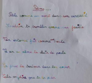 Concours MordeLIRE Poème à trou(ille) - Jade, 8 ans