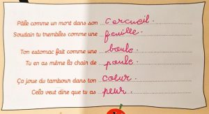 Concours MordeLIRE Poème à trou(ille) - Lilana, 8 ans