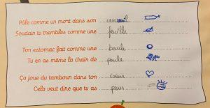 Concours MordeLIRE Poème à trou(ille) - Pauline, 10 ans